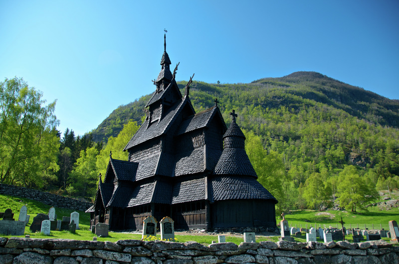 Stavkirke de Borgund (Norvège)